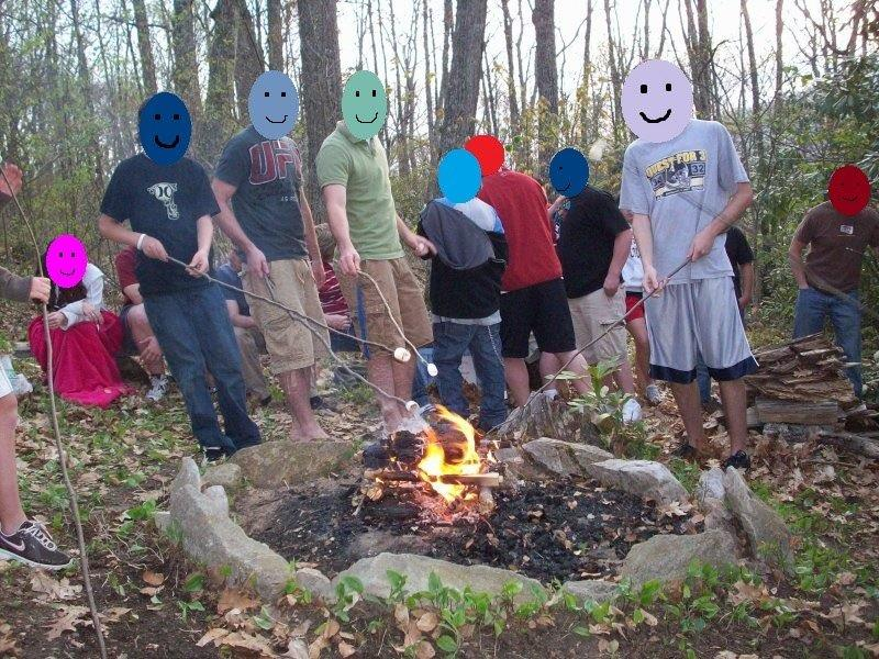 S'mores around the campfire